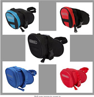 Bike Bag, Bike Saddle Bag,Bicycle Under Seat Pack Cycling Accessories Pouch