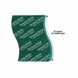 Scotch brite Scrub Pad which cleans better & lasts longer.