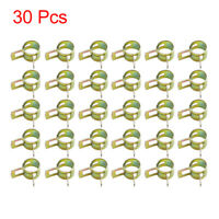 30pcs 10mm Car Fuel Line Spring Clips Water Pipe Air Tube Clamps Hose Fastener