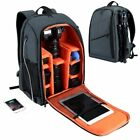 Photography Bag Backpack Camera Waterproof Large Capacity Durable with Charging