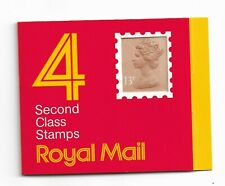 Royal Mail Code F, Type 1, 4 x 13p stamps window barcode booklet circa 1986