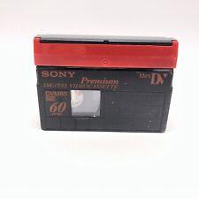 Sony Dvm60 MiniDv Premium Digital Video Cassette Tape for Handycam Camcorder