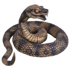 Avvolta serpente rettili giocattolo Halloween decorazione Prop Animali e Natura FANCY DRESS