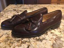 Allen Edmonds Grayson Men's Brown Tassel Loafers Dress Shoes Slip On 8A