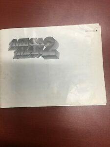 Mega Man 2 NES Manual