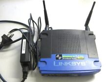 Cisco LINKSYS Wireless-G Broadband 4-Port Router with Power Supply  WRT54G Ver.7
