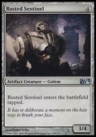 1x FOIL Rusted Sentinel M12 MtG Magic Artifact Uncommon 1 x1 Card Cards
