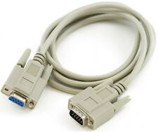 DB9 9 pin Serial RS232 Extension Male to Female Cable 3M 10 foot (10 ft length)