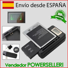 Cargador bateria con LCD + usb / Samsung Galaxy Note GT-N7000 / GT-i9220