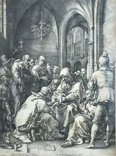 Gravure Ancienne Hendrick GOLTZIUS (1558-1617) Circumcision, Life of the Virgin