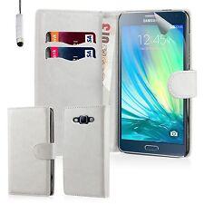 Custodie portafoglio bianca per Samsung Galaxy A5