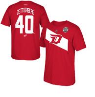NHL Detroit Red Wings #40 Zetterberg Stadium Series Hockey Shirt New Mens Sizes