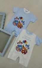 abbigliamento neonato,tutina pagliaccetto bimbo 2 col.mis da 0 a 24 mesi