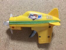 Toy Airplane Mechanical Gun Pistol Vintage Plane Propeller Spins Spark ? COOL