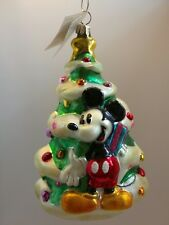 Christopher Radko Mickey and Minnie tree