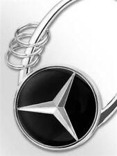 Mercedes-Benz Schlüsselanhänger Sofia silber Metal 3D-Stern-Logo