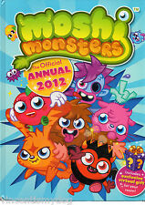Moshi Monsters: Official Annual 2012 (Hardback, 2011)