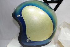 Shoei Buco Blue Silver 1973 3/4 helmet M Harley Honda motorcycle NOS EPS19987