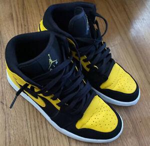 Nike Air Jordan 1 Retro High OG Pollen 555088 701 GS 8.5 US 7.5 UK Slightly Used