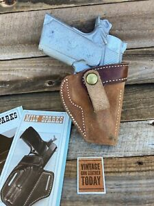 Milt Sparks 1980s Idaho City Summer Special for Colt Officers Model IWB Holster