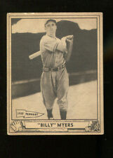 Billy Myers 1940 Play Ball #80 Reds Ex 18721
