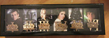 Disney STAR WARS EPISODES TITLES BOXED PIN SET 6 Pins LE500 D23 Expo 2015