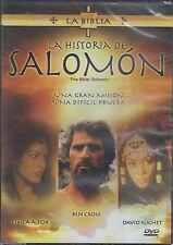 DVD - La Historia De Salomon NEW The Bible: Solomon Ben Cross FAST SHIPPING !
