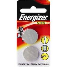 Genuine Energizer CR2032 3Volt 2pk Lithium Coin Batteries Twin Pack