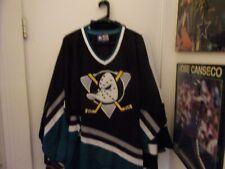 Vintage Anaheim Ducks # 7  Hockey Jersey Size Man XL By Starter