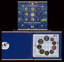 DIVISIONALE UFFICIALE MONETE  EURO ITALIA 2011 CON 2 EURO UNITA' D'ITALIA _ FDC