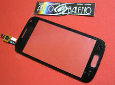 VETRO+ TOUCH SCREEN per SAMSUNG GALAXY ACE 2 GT i8160 DISPLAY VETRINO Nuovo NERO