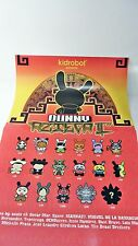"DUNNY AZTECA2 POSTER - Checklist - from case box - approx 11"" x 17""  kidrobot"