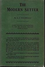 Modern Setter, Hochwalt, 1935 Rare English Irish Gordon