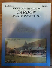 Carbon County PA Franklin Map Street Atlas