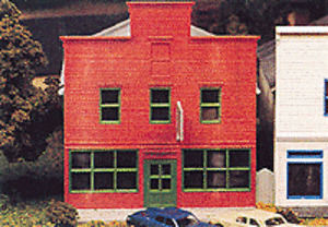 TYPICAL SMALL TOWN - MAIN STREET STORE #2 - N Scale