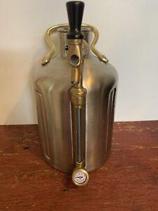 GrowlerWerks uKeg Pressurized Growler for Craft Beer NEEDS LID