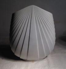 Vintage 1986 Rosenthal Studio Line Max Fussi White Porcelain Fan Vase
