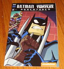 Batman Teenage Mutant Ninja Turtles Adventures #4 Tony Fleecs Ri Variant Edition