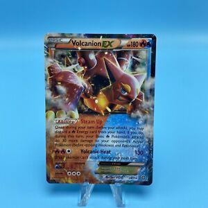 Volcanion EX 26/114 - Pokemon Card XY: Steam Siege - Ultra Rare Holo