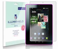 """iLLumiShield Anti-Glare Screen Protector 3x for Kobo Vox 7"""" Color Tablet eReader"""