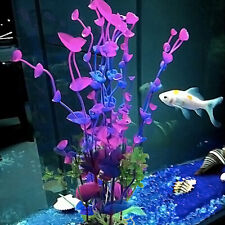 UK Artificial Fake Plastic Water Grass Plants for Fish Tank Aquarium Ornament
