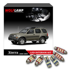 8Pcs White Bulbs LED Interior Kit Car Lights For 2000-2004 Nissan Xterra