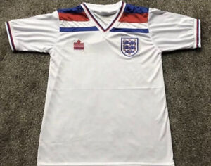 Retro England Admiral 1982 World Cup Shirt L UK *Brand New Sealed*