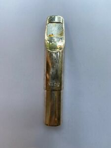 D. Guardala King silverplated tenor saxophone mouthpiece