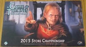 A Game Of Thrones LCG Promo Official Playmat 2015 Store Championship