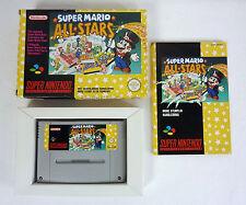 SUPER MARIO ALL STARS - Jeu Super Nintendo SNES complet - FAH