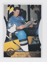 1996-97 Leaf Press Proof 84 Mario Lemieux Pittsburgh Penguins RARE