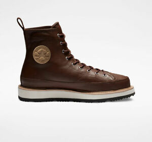 NIB*Converse Crafted Boot Chuck Taylor*Mens*Chocolate Brown* Size 8-13*Sneaker