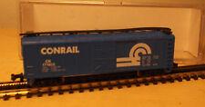 Mehano N Gauge T471/13885 US Box Car Freight Car Conrail Blue Boxed