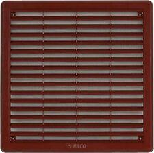 Ventilación Parrilla Tapa 250x250mm (25.4x25.4cm) MARRÓN Cubierta De Ventilador
